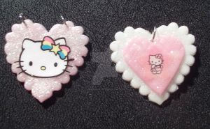 Hello Kitty Pendant by lenneheartly