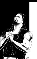 WWE Roman Reigns by craigdeboard111