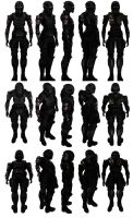 Mass Effect 3, MP N7 Demolisher Engineer Ref. by Troodon80