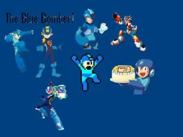 The Blue Bomber by Pinutk
