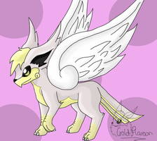 Skireon Fakemon by GoldFlareon