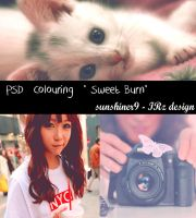 PSD Colouring - Sweet Burn by SunShiner9