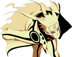 The Nine Tails Sage [VECTOR] by xaiGatomon