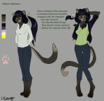 Meline ref by Silverbloodwolf98