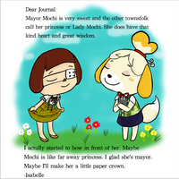 Isabelle's Journal Entry by Shellybelly95