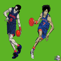 Samurai Champloo for NBA Draft by kliqs1