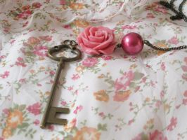 vintage key 5 by unread-story