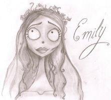 Corpse Bride: Emily by Croal
