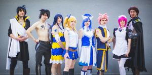 Fairy Tail Group by CycloneXHTC