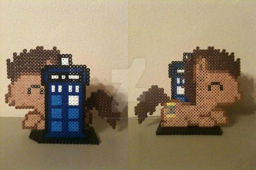 Dr. Whooves and Tardis by BrohoofsUnited