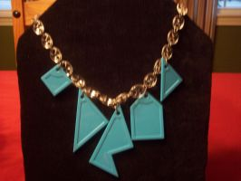 Geometric Puzzle Necklace by illcoveryouwjh