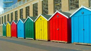 Beach Huts by RKdesigns