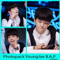Photopack YoungJae B.A.P by songlinhminhanh2000