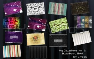 BlackBerr bold wallpapers No:2 by c-viros