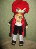 Sasori plushie body by Rens-twin