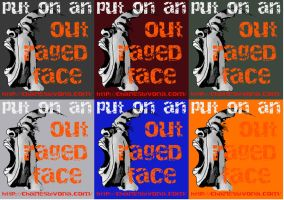 Outraged Face Color Examples by DeaconStone