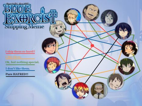 Ao No Exorcist Shipping Meme Base By Specialn- by thuydu10