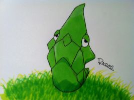 Kanto no. 011 Metapod by Randomous