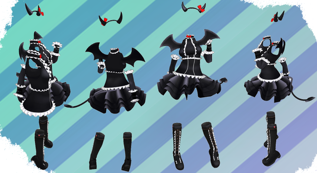 MMD NJXA Outfit 3 by MMD3DCGParts