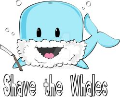 Shave the Whales by OHea