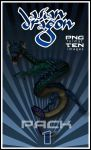 Asian Dragon PNG pack 1 by Alegion-stock