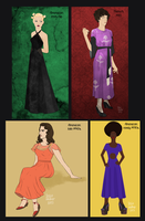 Dresses again by Oranjes