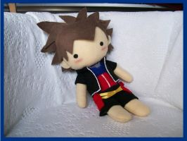 Wobbly Cuddly Sora Plushie by CuteGio