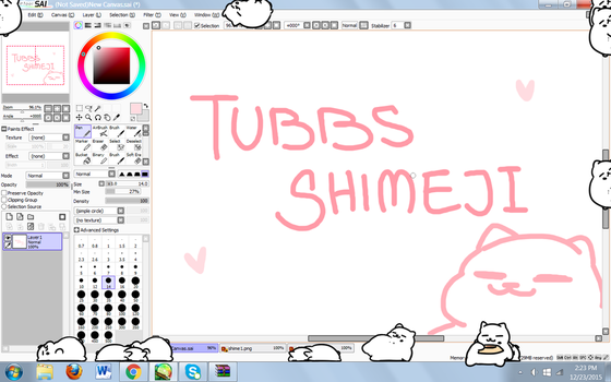 Tubbs the Cat SHIMEJI by Soupery