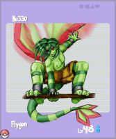 No330 Flygon by PBAnime