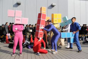 Tetris Cosplay by keeonso