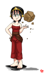 Toph Beifong by Pencil-snap