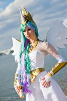 Princess Celestia by littlekiddens