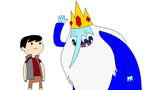 Me and Ice King by MarcosLucky96