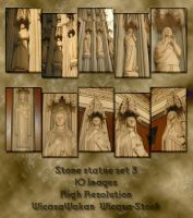Stone statues 3 by Wicasa-stock