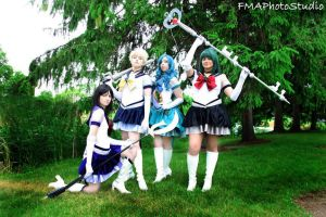 Eternal Sailor Soldiers Outer Team by LilithOya