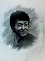 Portrait of Jackie Chan by cheatingly