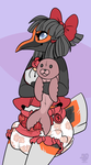 Big Baby Penguin - Peggy by gamemaster19863