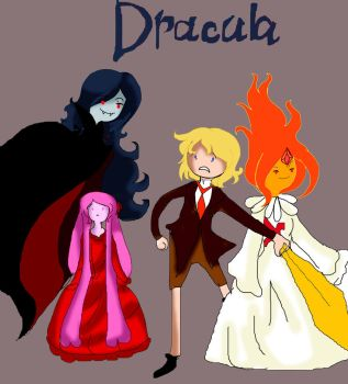 Dracula - adventure time crossover by Lewa20