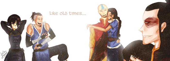Avatar: Like old times... by Mylla-Peppers23