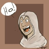 Altair IS amused by Fratellanza