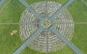 Cities Skylines - Circular City by Shroomworks