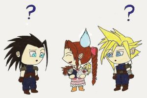 Aerith's got some explainin' by Xejicka