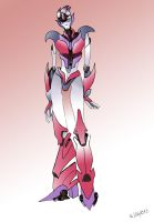 Transformers Prime: Mercedes by DOLL017