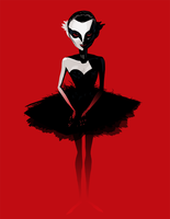 Black Swan by vitaminBee