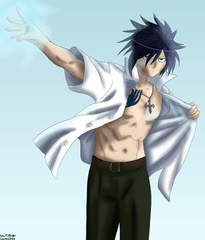 Grey Fullbuster by locomore