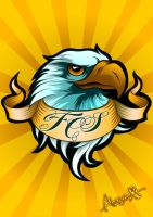 Eagle logo by almazoff196