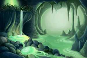 Magical Cave by Nuditon