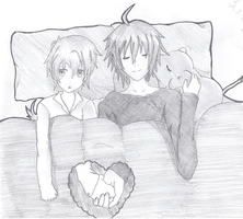 Sleeping Together by Near-X-Rukia