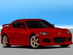V - Mazda RX-8 Mazdaspeed by me-myself