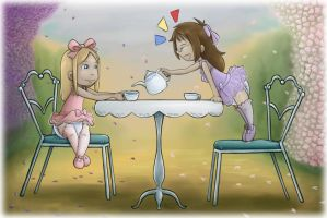 Let's play teatime by The-Padded-Room